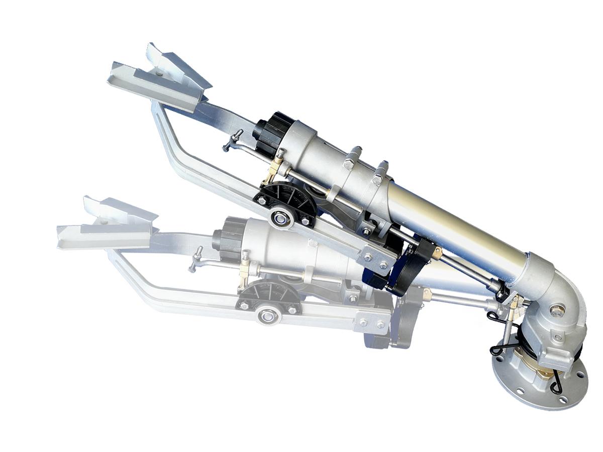 DLS50PYC仰角可调节垂直摇臂式喷枪