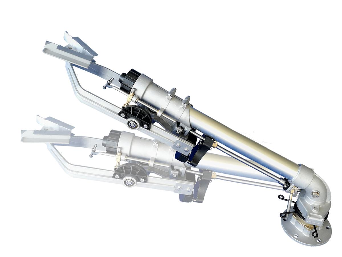 DLS50仰角可调节(加长)垂直摇臂式喷枪