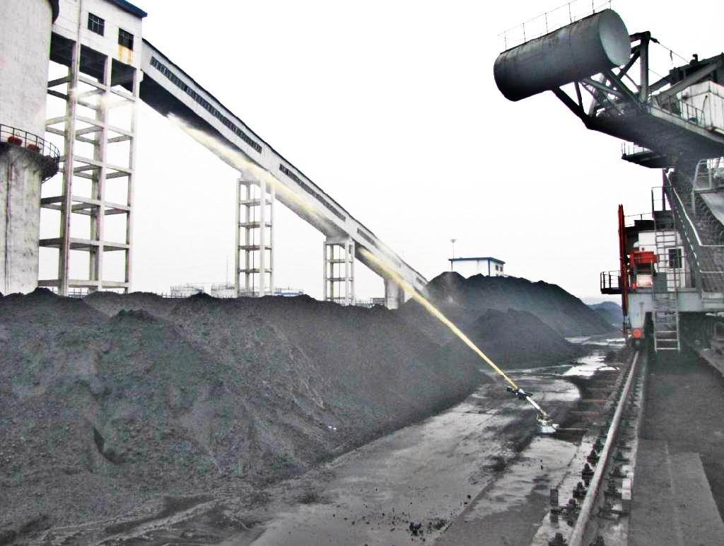 煤场除尘喷枪在煤场中作用很大